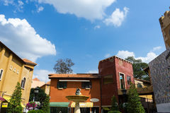 View of the shops. At Palio Khao Yai Stock Photography