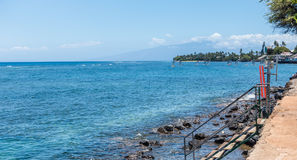 Lahaina Shoreline Stock Photography