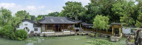 The view of the Shouxi Lake Slender West Lake in Yangzhou. The view of slender west lake in Yangzhou city, Jiangsu province, China royalty free stock photography