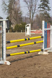 Show jumping is ready Royalty Free Stock Image