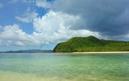 Siargao Island. View of Siargao Island in the Pacific Ocean, Philippines Stock Photos