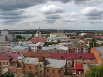 View of the Siberian city Tomsk Royalty Free Stock Photos