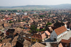 View of Sibiu Royalty Free Stock Photo