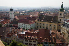 View of Sibiu Royalty Free Stock Photography