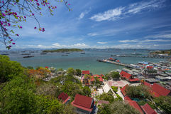 View of Sichang island. Thailand Stock Image