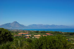 View of Sicily Royalty Free Stock Image