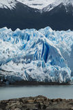 View of the side of the Perito Moreno Glacier Royalty Free Stock Images