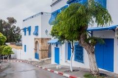 View of Sidi Bou Said in Tunisia Stock Photos