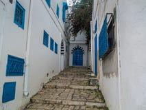 View of Sidi Bou Said in Tunisia Royalty Free Stock Image