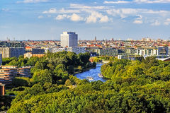 View from the Siegessläule Royalty Free Stock Photo