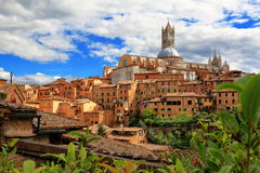 View of Siena in Italy Stock Image