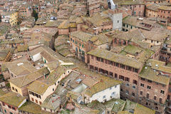 View of Siena old town Stock Photos