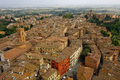 View of Siena town. Tuscany, Italy. Stock Photo