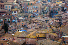 View of Siena, Tuscany, Italy Stock Photography