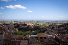 View of Siena, Tuscany, Italy Stock Photos