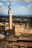 View of Siena, Tuscany, Italy Royalty Free Stock Photos