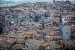 View of Siena, Tuscany, Italy Royalty Free Stock Photography