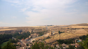 View of the sierra from alcazar of Segovia Stock Photo