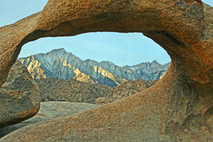 View through Mobius Arch Royalty Free Stock Photos