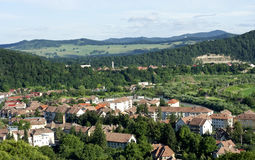 View on Sighisoara, raw Royalty Free Stock Photo