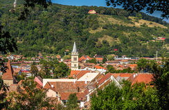 View of Sighisoara town Royalty Free Stock Image