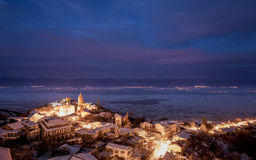 View of Sighnaghi.  Love City. Georgia. Royalty Free Stock Photography