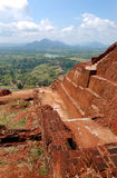 The view from Sigiriya (Lion's rock) Royalty Free Stock Images