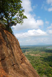 The view from Sigiriya (Lion's rock) Royalty Free Stock Photo