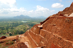 The view from Sigiriya (Lion's rock) Stock Photos