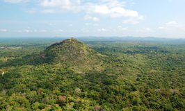 The view from Sigiriya (Lion's rock) Royalty Free Stock Image