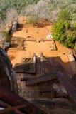 View from Sigiriya Lion's rock palace Royalty Free Stock Photo