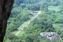 View from Sigiriya Royalty Free Stock Photos