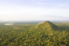 View from Sigiriya, Sri Lanka stock image
