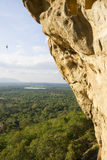 View from Sigiriya, Sri Lanka Royalty Free Stock Images