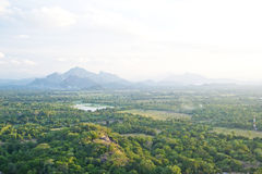 View from Sigiriya, Sri Lanka Stock Images