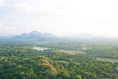 View from Sigiriya, Sri Lanka Stock Images