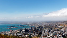 The view from signal hill Cape Town Royalty Free Stock Images