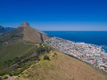 View from Signal hill Royalty Free Stock Photo