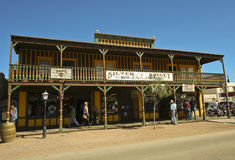 A View of the Silver Nugget, Tombstone, Arizona Royalty Free Stock Photos