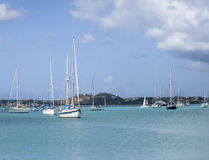 View of Simpson Bay, St Martin Stock Photography