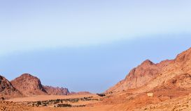 View of Sinai Desert Royalty Free Stock Photography