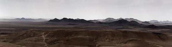 View of Sinai from Israel Stock Photography