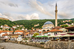 View at the Sinan Pasha mosque in Prizren Royalty Free Stock Images