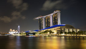 View of Singapore bay Royalty Free Stock Photography