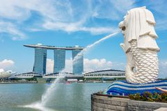 View of Singapore Stock Images
