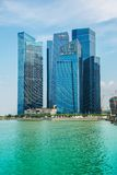 View of Singapore Royalty Free Stock Photo