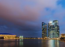 View of Singapore Royalty Free Stock Images