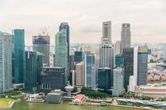 View of Singapore Royalty Free Stock Photos