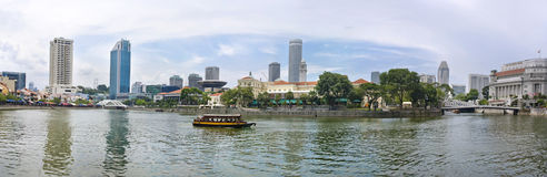 View of Singapore City Stock Photography