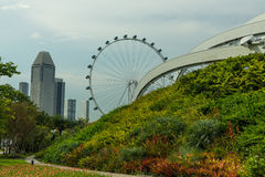 View of Singapore city skyline Stock Photography